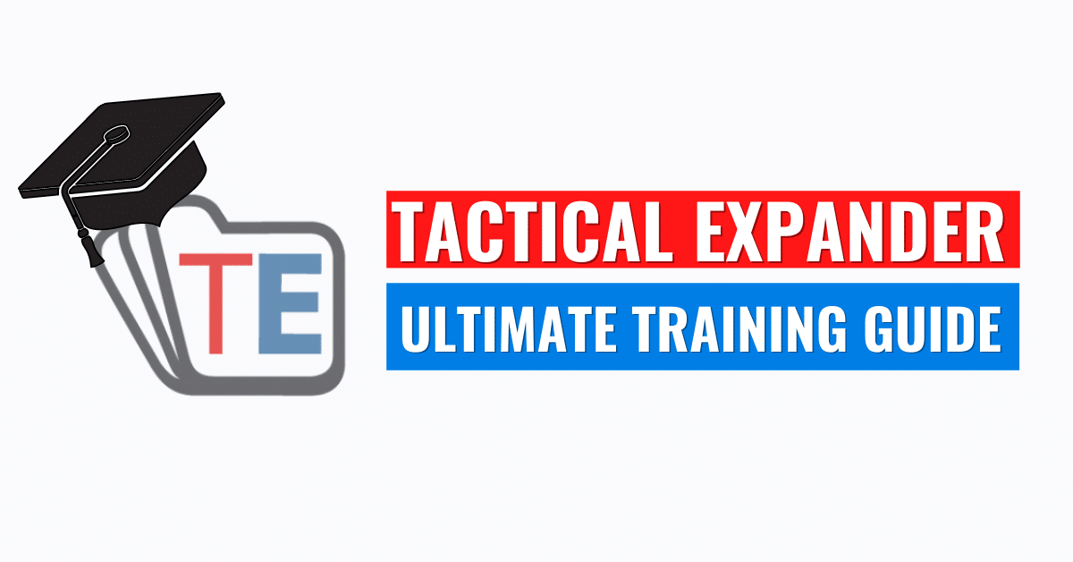 Tactical Expander Training