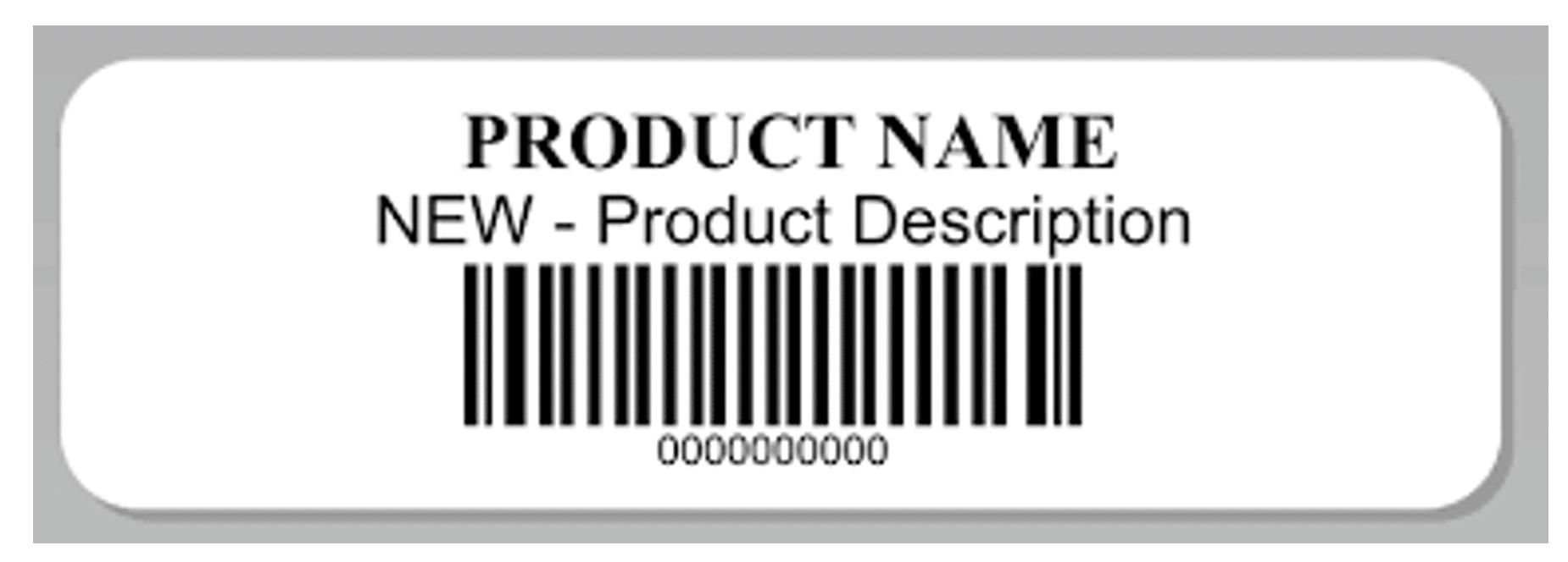 Amazon shipment label example FBA