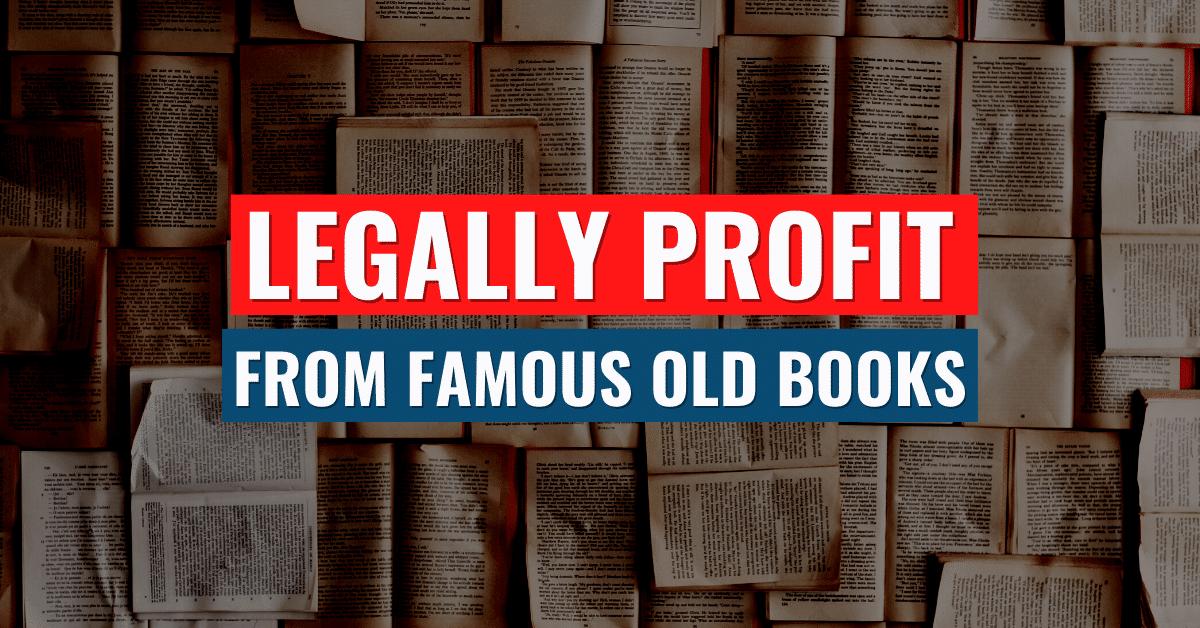 Selling Public Domain Books