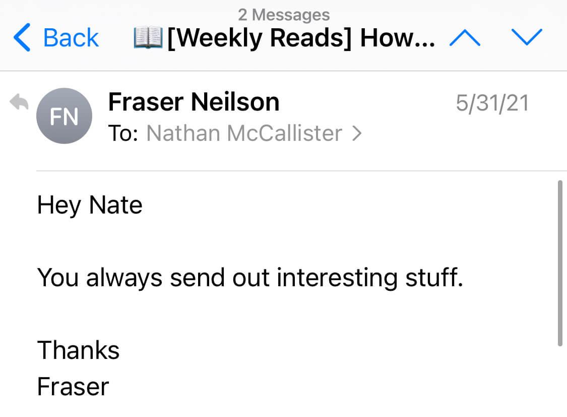 newsletter reviews