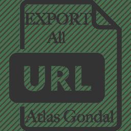 Export All URLs – WordPress plugin