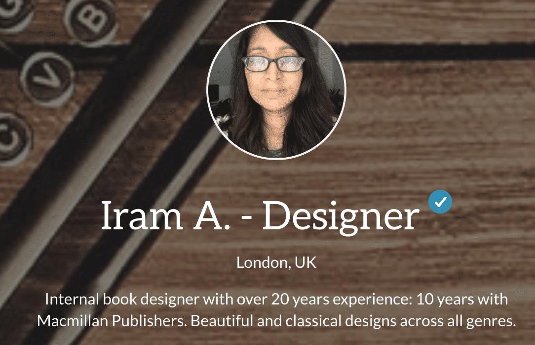 Imran Designer on Reedsy