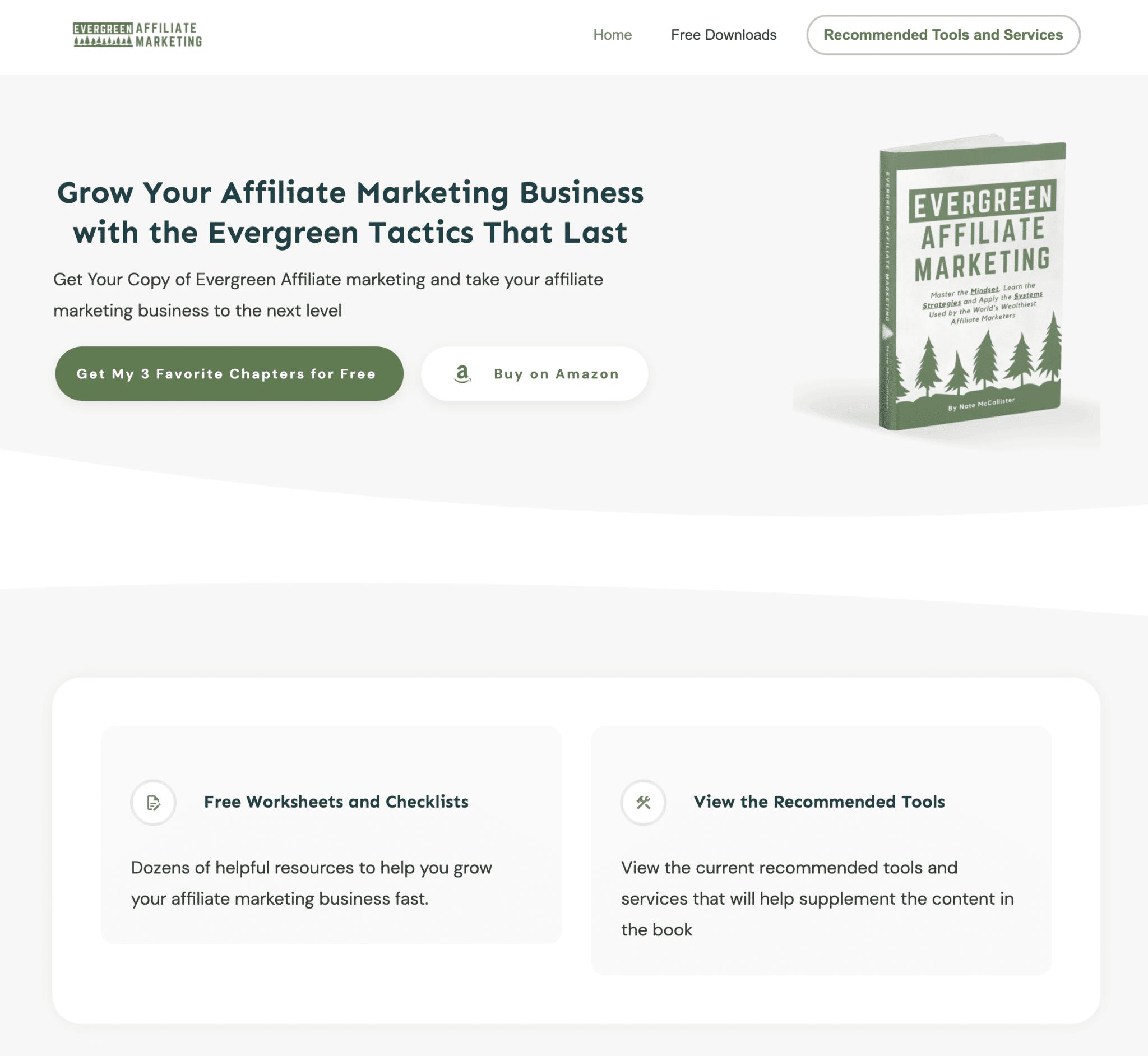 Website for Book