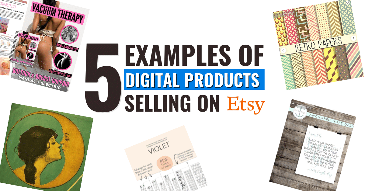 Digital Products on Etsy