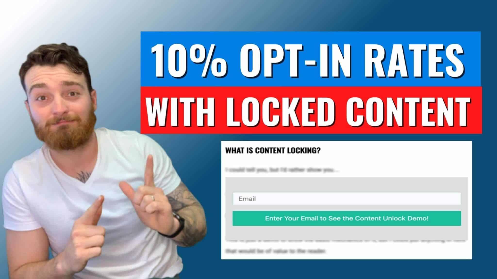 Content Locks on Blogs