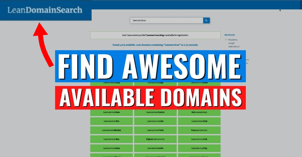 How to Find Great Available Domain Names