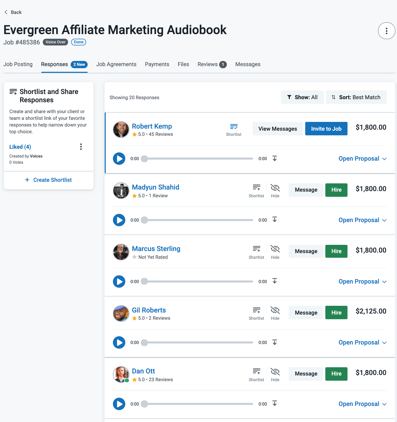 Voices.com Talent Examples
