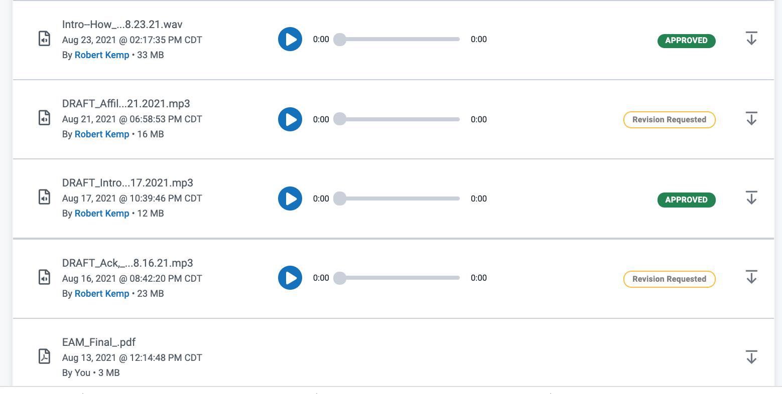 Voices.com review process