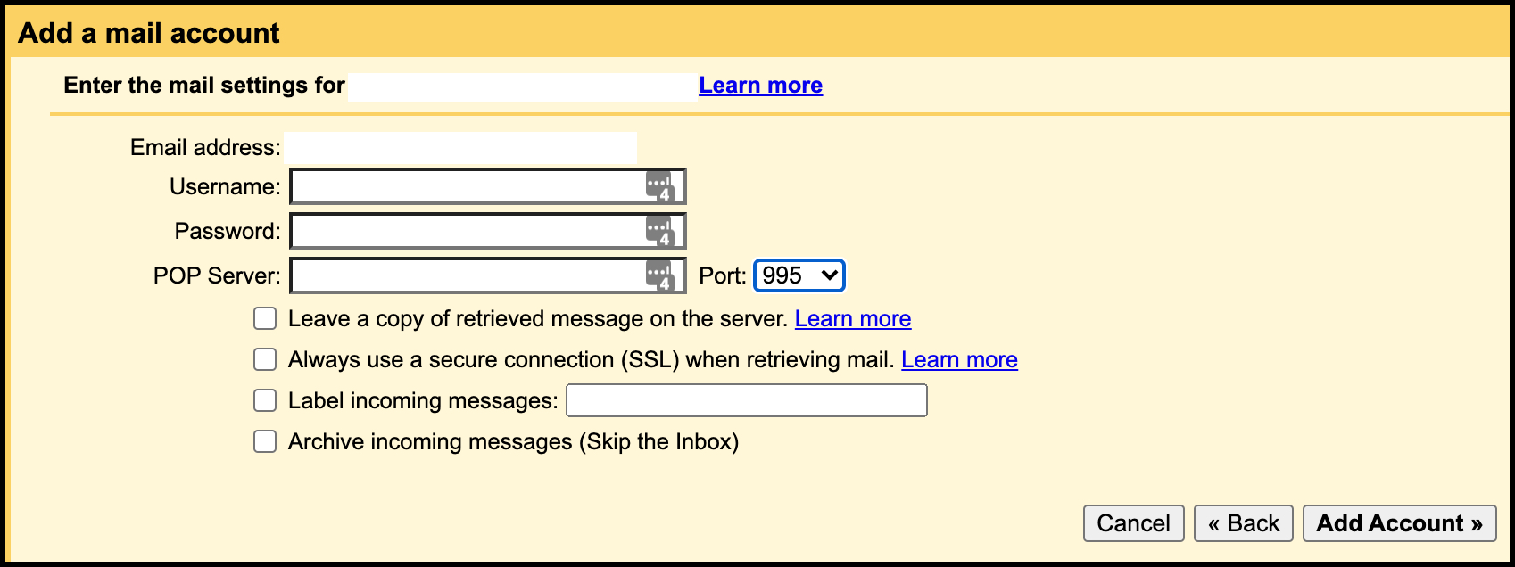 Email Setup 4