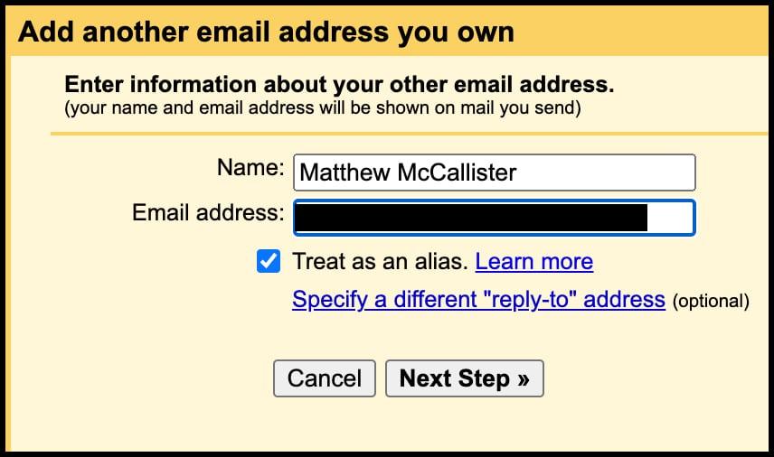 Email Setup 5