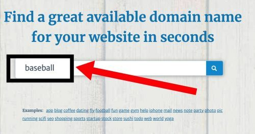 Lean Domain Search Tutorial
