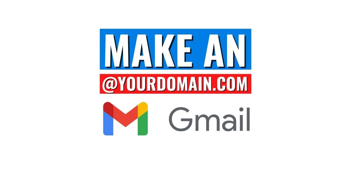 Make an email with your domain name